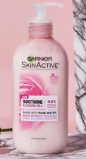 Garnier SkinActive Soothing Cleansing Milk Wash with Rose Water Cleanser 6.7oz