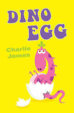 Dino Egg, Charlie James, New condition, Book