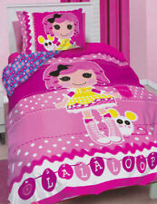 Lalaloopsy Quilt Doona Duvet Cover Set Bedding Girls Kids Rag Dolls Toys Owl New