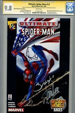 Ultimate Spider-Man 1/2 CGC 9.8 SS X3 WW variant Stan Lee Brian Bendis Bagley WP