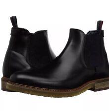 Ted Baker Mens Bronzo Black Leather Chukka Chelsea Boots 11M NIB
