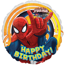 SPIDERMAN Foil Balloon Birthday Party Decoration 17 in 43cm