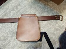TripleK - Trap And Skeet Shell and Hulls Leather Bag and Belt - No Reserve!