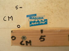 STICKER,DECAL ORIGINAL MAGURA HYDRO STOP MOTO ?