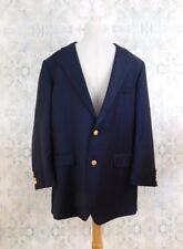 Brooks Brothers Blue Madison Makers & Merchants Loro Piana Wool Blazer 41 L