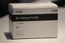 Sigma DG 24-105mm f/4 HSM DG OS Aspherical Lens For Canon