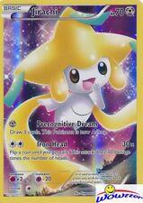 Pokemon Mythical Jirachi Xy112 Full Art Black Star Promo Holo Foil Card
