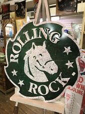 Rolling Rock Tin Sign
