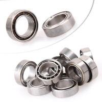 10pcs MR74z 4x7x2.5mm Open Miniature Bearings ball Mini Hand Bearing Spinner ♫