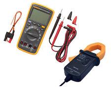 GST INV FLUKE 17B+  Digital Multimeter (Backlit) Temp Probe AC TRANSDUCER Tester