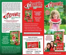KidSprinklz Youngevity childrens' multi vitamin mineral probiotic TRIAL SAMPLE