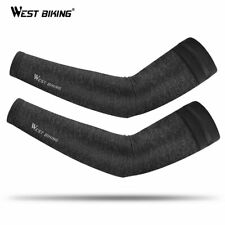 WEST BIKING Cycling Running Cool Arm Sleeve Bicycle UV Protection Cuff Cover