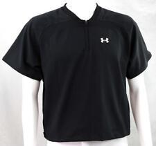 Under Armour Baseball Short Sleeve Batting Cage Jacket UA Logo, Youth Medium New