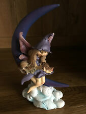 Fairy Pixie On Crescent Moon Figurine Designed by Anthony Fisher
