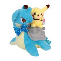 Pokemon Lapras Pikachu Plush Toy Stuffed Doll Figure Gift 8 inches
