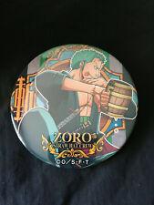 One Piece Yakara Utage Pin Badge Button Roronoa Zoro