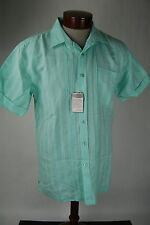Bohio Men's Linen Short Sleeve Button Up  - Large - NWT