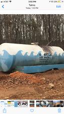 2500 gallon Steel Water Tank