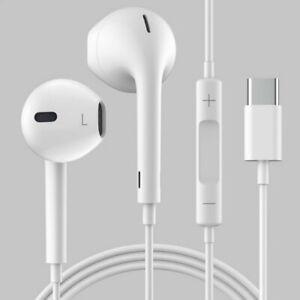 USB C TYP C Kopfhörer Headset Earphone Ohrhörer In-Ear Samsung Huawei Xiaomi LG