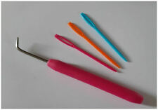 Needles and Hook Crochet Hook Set For French Knitting Loom S