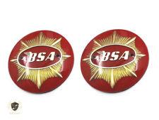 BSA GOLDSTAR DBD32 DBD34 GAS FUEL PETROL TANK RED BADGES  Fit For