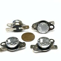 4 Pieces N/C 125ºC 257ºF normally closed Thermal  Thermostat switch KSD301 C26
