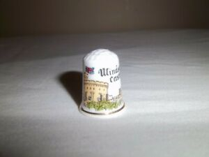 Collectible Bone China Thimble Windsor Castle Made in England