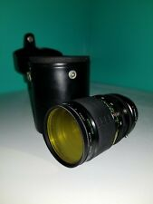 Sigma XQ 39mm - 80mm 1:3.5 Multicoated Lens w/ Case JAPAN Mini Zoom UNTESTED