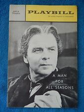 A Man For All Seasons - ANTA Theatre Playbill - March 4th, 1963 - George Rose