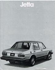 Vintage 1982 Quantum Volkswagon Car Dealership Brochure Information Booklet Sale