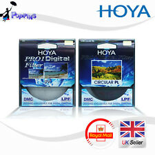 Hoya 77mm Pro1 Digital Circular Polarising CPL & UV Multi-Coated Lens Filter Kit