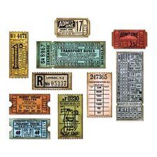 Sizzix Thinlits Die Set Ticket Booth Set of 6 | Tim Holtz