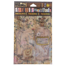7Gypsies® Architextures™ Treasures, 7g25141 Vintage Bottles with StoppersNEW