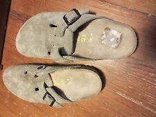 Footprints Birkenstock 40 260 Ladies 9 Mens 7 Brown Slip On Shoes (HN)