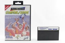 Champions of Europe-fútbol fu R Sega Master System/MS