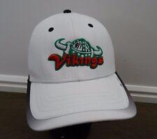 Vikings hat ball cap White Green