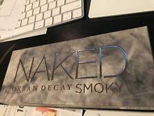 NIB Urban Decay Naked Smoky Palette New Auth 9 Shades Matte Shine Long Lasting