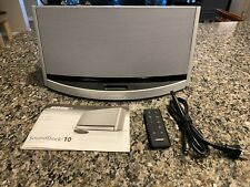 Bose SoundDock 10 Digital Music System - Silver - Excellent Condition