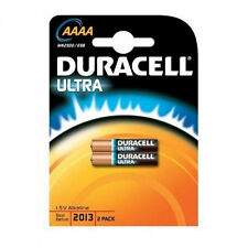 Batteries Duracell Ultra AAAA MX 2500 up to 2019