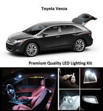 2009 - 2017 Toyota Venza Premium White LED Interior Package (12 Pieces)