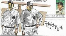 WILD HORSE HP ARTIST PROOF NEW YORK YANKEES LOU GEHRIG & BABE RUTH  Sc 2417