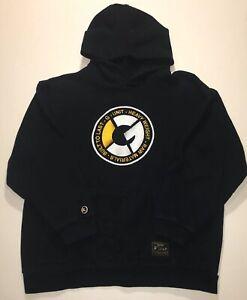 RARE Vintage G Unit 50 Cent Big Stitched Patch Logo Hoodie Sweatshirt M L Large