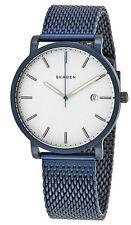 Skagen SKW6326 Men's Hagen Blue Ion Plated Stainless Steel Mesh Band Watch