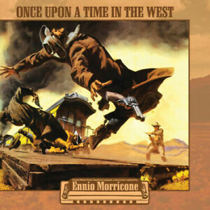 Ennio Morricone - Once Upon A Time In the West CLEAR Vinyl Soundtrack NEW!