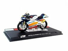 APRILIA RSW 125 #22 IXO ALTAYA 1:24 DIECAST COLLECTOR'S MOTORCYCLE MODEL , NEW