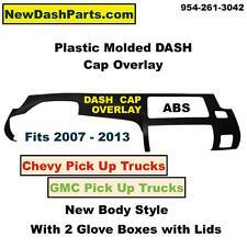 07-13 Chevy & GMC P/U Plastic DASH Cap Overlay HARD Cover