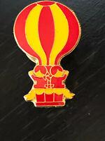 Vintage Collectible Hot Air Balloon Colorful Metal Pin Back Lapel Pin Hat Pin