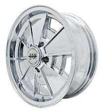 EMPI BRM Rim 17x7 wheel Chrome Late NEW BEETLE 2000 UP , 5-100