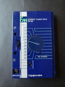 Vintage Toshiba FM Stereo Tuner Pack Tape RP-S2 - Converts Cassette Tape player