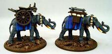 RAFM MINIATURES Elephant Gatling Gun train